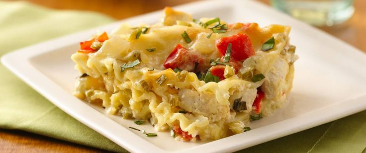Looking for a make-ahead pasta dinner using Progresso® chicken broth? Then try this cheesy casserole that's layered with chicken and lasagna. Perfect if you love Italian cuisine.