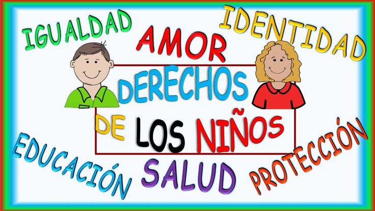 DERECHOS DE LOS NIÑOS, VIDEO INFANTIL  CHILDREN`S RIGHTS VIDEO IN SPANISH