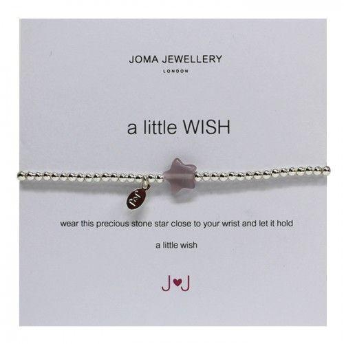 Joma Jewellery A Little Wish Bracelet in Pink £10.99 at Macmillans of Penwortham