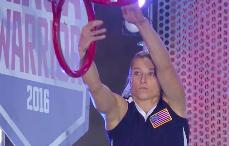​Jessie Graff, a Hollywood stuntwoman on shows like Supergirl made history by completing American Ninja Warrior's Stage 2.