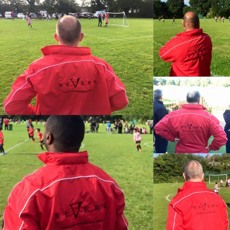 Revere Clinics are proud to support the local FC club. #Northwood #MoorPark #London #RevereClinics #fasion #redjacket