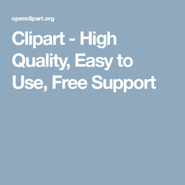 Clipart - High Quality, Easy to Use, Free Support