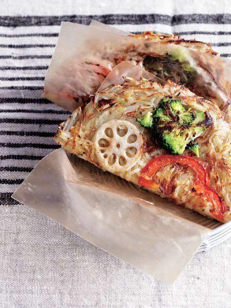 【ELLE a table】野菜のガレットレシピ|エル・オンライン