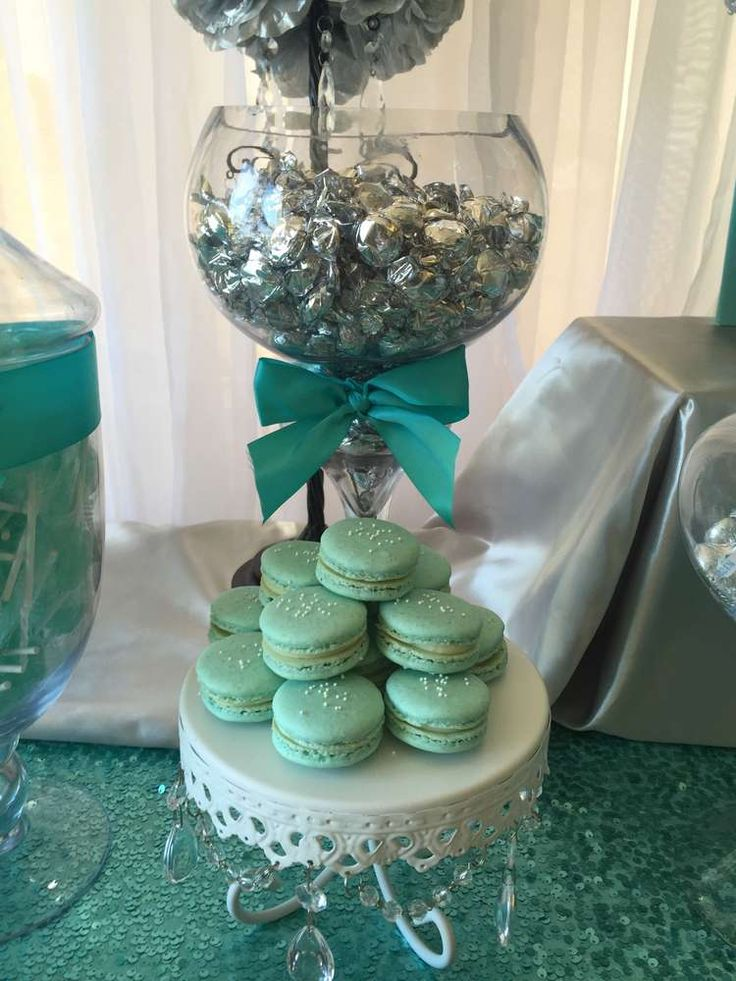 Macarons at a Paris birthday party! See more party ideas at CatchMyParty.com!