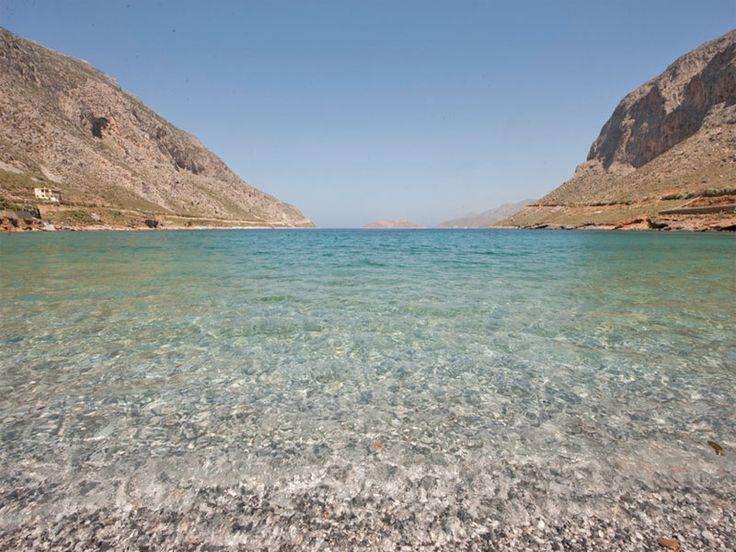 Agrinodas Beach, Kalymnos #mysteriousgreece