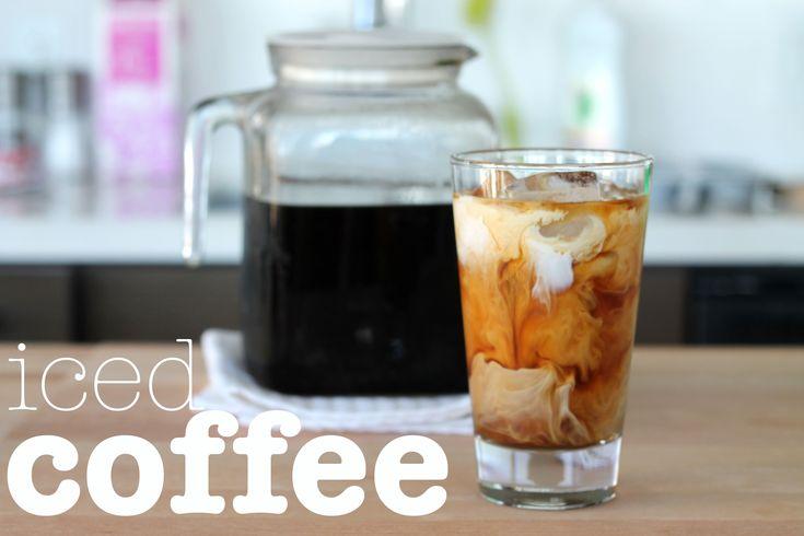 Ree Drummond's iced coffee