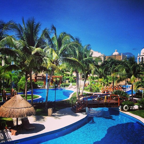 Excellence Riviera Cancun pool areas. #Cancun #AdultsOnly #LuxuryVacation