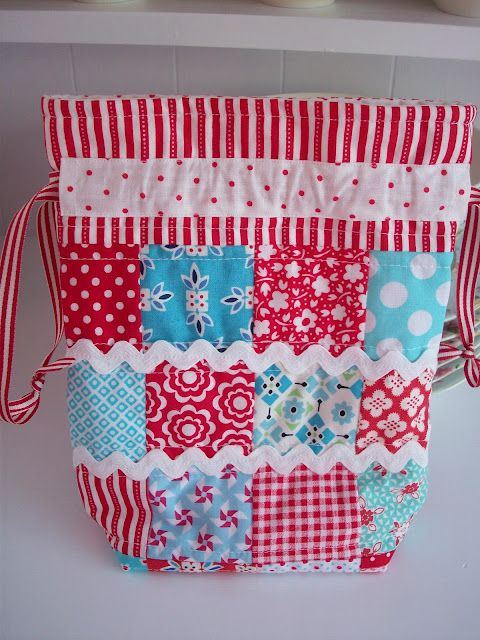 cute bag from Auntie's Quaint Quilts