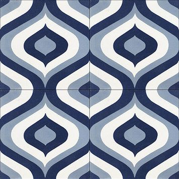 Oceana Collection from Original Mission Tile at Interior Design productFIND: Note: 100% CUSTOM - 60 COLORS PALETTE Dimensions: 8X8X5/8...