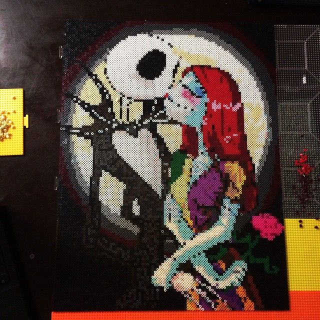 20 best Hama Perler - Nightmare before Christmas images on ...