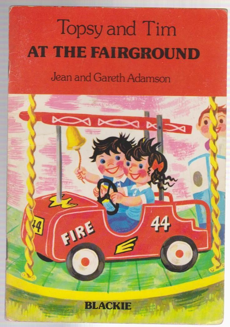 ''Topsy and Tim At The Fairground'', Blackie, 1978