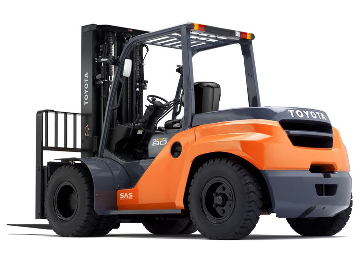 Toyota 3 5 8ton Forklift Engine Powered Forklift Truck