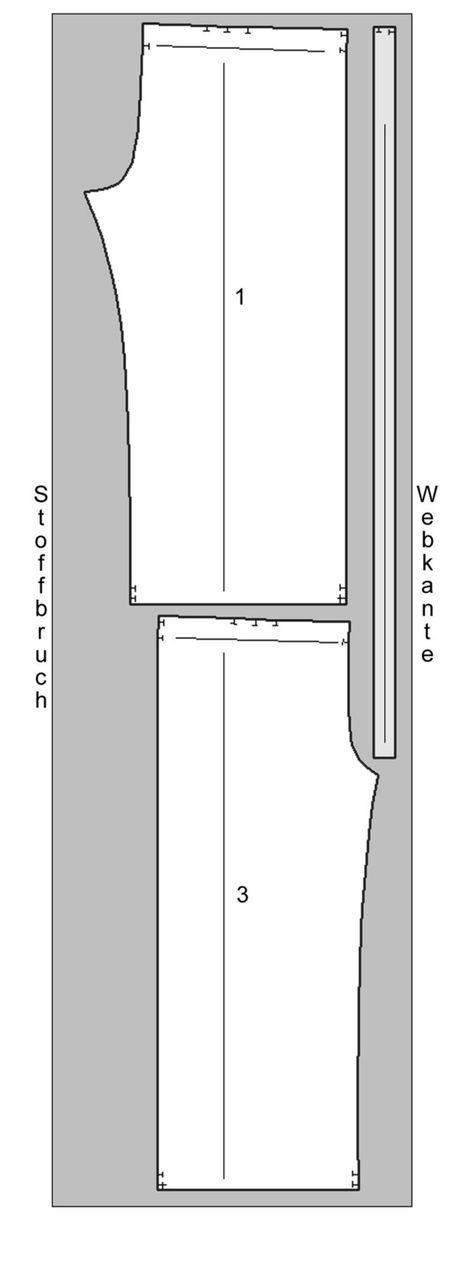 Schnittmuster: Pumphose nähen – eine Anleitung zum Selbernähen – Dorothea