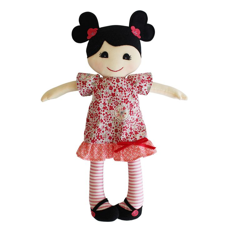 Rag Doll 'Mia' Soft Toy by Tiger Tribe - A Whole Lot of Love