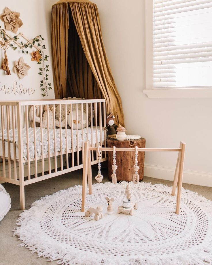 In The Nursery With Veronika S Blushing Project Nursery