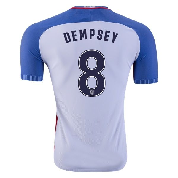 Nike Clint Dempsey USA Authentic Home Jersey 2016