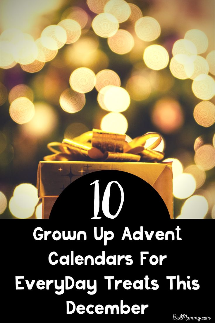 Looking for Grownup Advent Calendars this December? Here's 10 of the best chocolate free to treat the adults in your life.