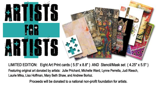 Artists for artists, don't miss out on these yummy printed artist cards! I already ordered mine. #artist
