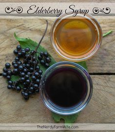 This easy homemade elderberry syrup is a delicious way to treat colds and flu! Studies show that elderberry can significantly shorten the duration of flu symptoms and helps you feel better, faster!