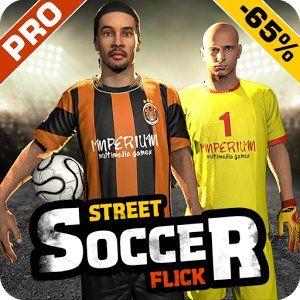 Download Street Soccer Flick Pro apk for free -  http://apkgamescrak.com/street-soccer-flick-pro/
