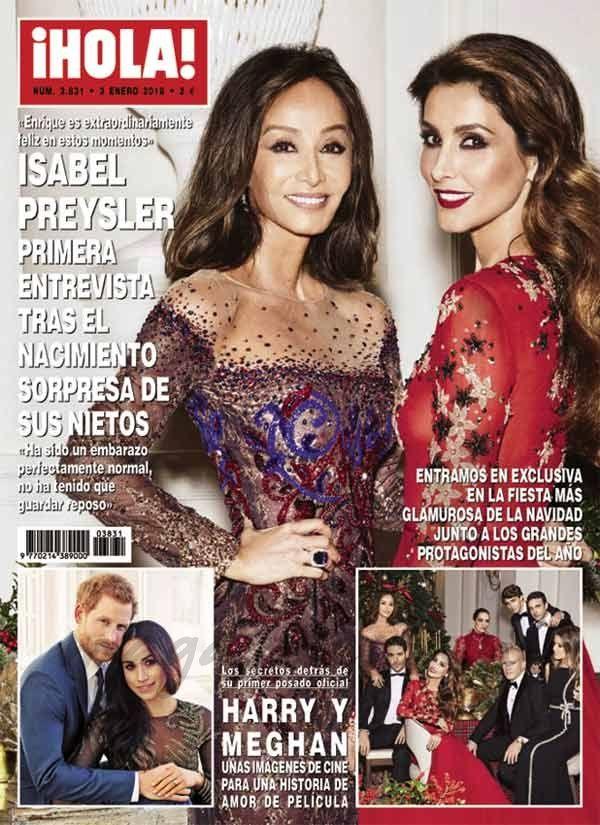 El Kiosko Rosa… 27 de diciembre de 2017: revista hola