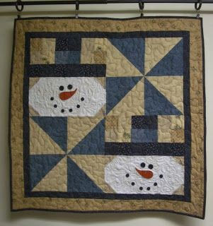 Snowman Wall Hanging 2013