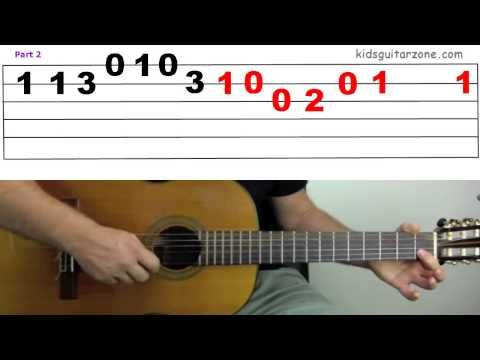 Guitar Lesson The Pink Panther