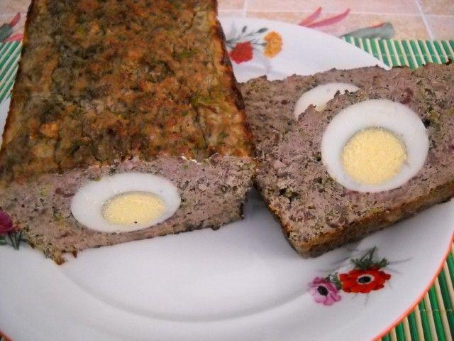 Lamb haggis for Easter - Drob de miel