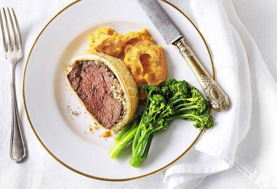 Weight watchers' beef wellington with pumpkin puree recipe - 9Kitchen