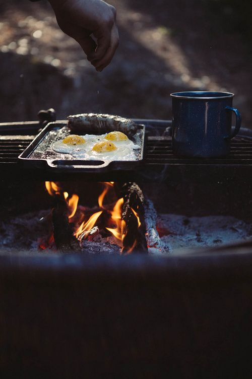 The best food is shared around a camp fire. We allow and cater for campfires on our campsite  www.tirabbey.com  here overlooking the Sansea Valley in Wales.