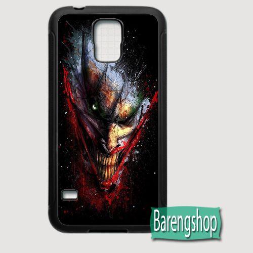Rubber Case The Joker DC Comics Custom Samsung Galaxy S5 Case