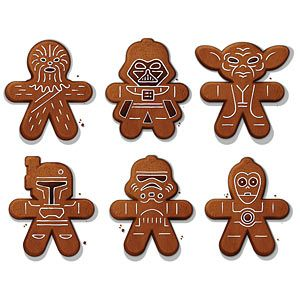 Star Wars Cookie Cutters | ThinkGeek