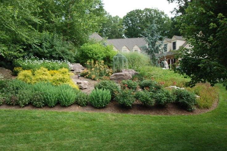 Landscaping Backyard Hill : Hill how does your garden grow landscaping yard