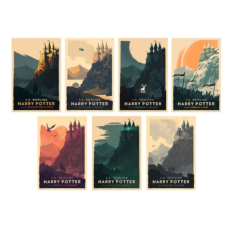 Beautiful new HP German audiobook covers from Olly Moss