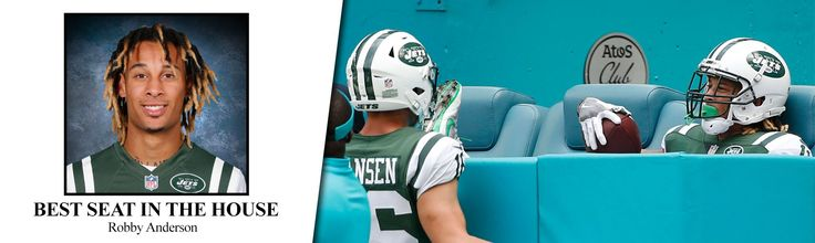 NFL Week 7 Superlatives: Jets' Robby Anderson grabs best seat in the house