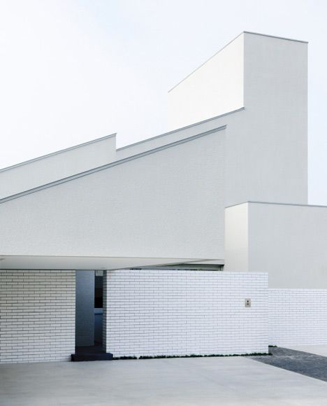 296 best images about architure ii on pinterest for Minimalist white house by koichi kimura