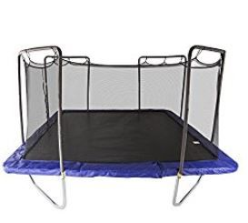 Skywalker is unbeatable. Highest bounce, safety, ease of assembly. Read our in-depth review here: http://toyveteran.com/skywalker-15-square-trampoline-enclosure-review/