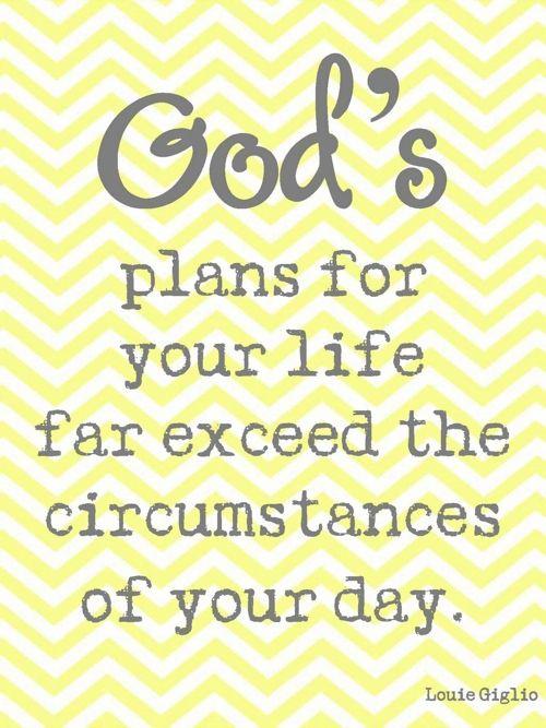 God's Plans :)