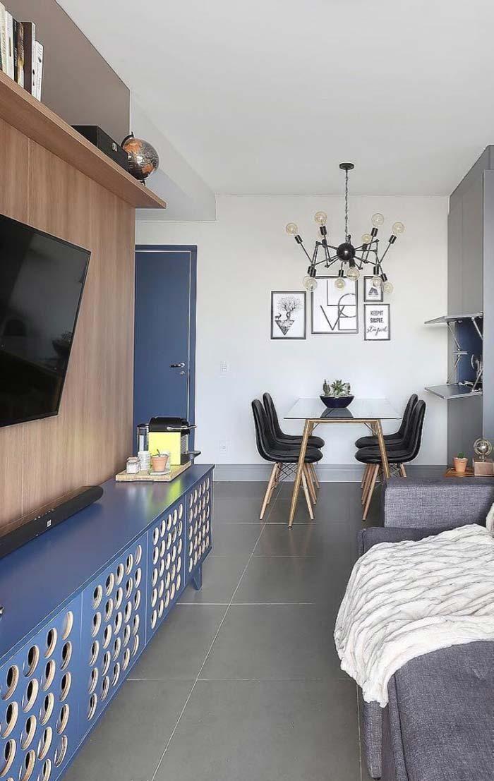 zimmer renovierung und dekoration farbgestaltung wohnzimmer schwarz weis, room rack: 60 modelle und ideen, um ihr zimmer zu dekorieren, Innenarchitektur
