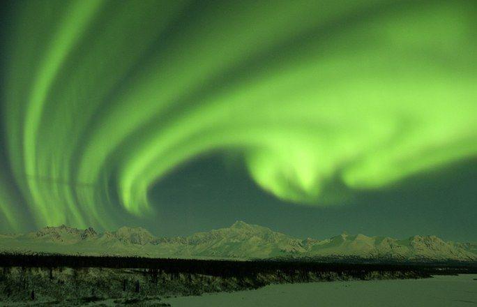 Auroras Boreales en Alaska - Auroras Boreales ¿mejores sitios dónde ver auroras boreales? - enfemenino