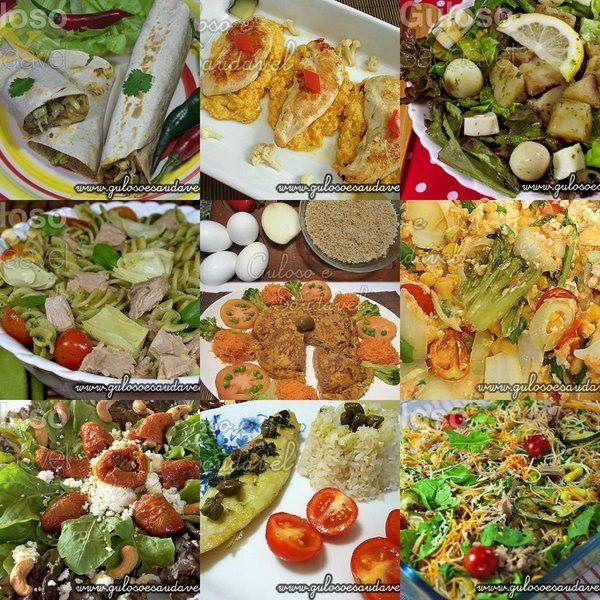 Almoços Saudáveis que se Prepararam em 15 minutos (ou menos) » Artigos » Guloso e Saudável