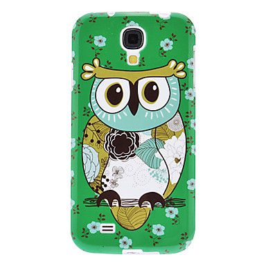 Green Flowery Owl Pattern TPU Soft Case for Samsung Galaxy S4 I9500 – AUD $ 4.93