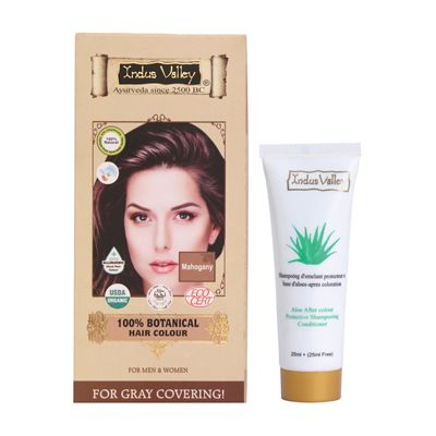 Buy Indus Valley 100% Botanical Hair Colour With 50Ml Shampoo Free by undefined, on Paytm, Price: Rs.495?utm_medium=pintrest