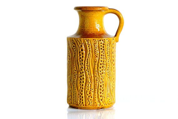 Carstens Tönnieshof West German pottery vase by ThatRetroPiece, $95.00