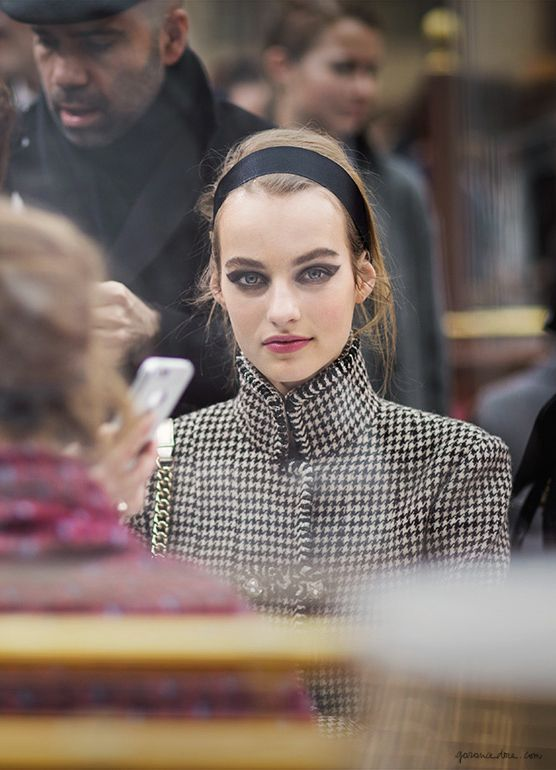 Chanel FW2015, Vogue editors, Paris Fashion Week, Brasserie Gabrielle / Garance Doré