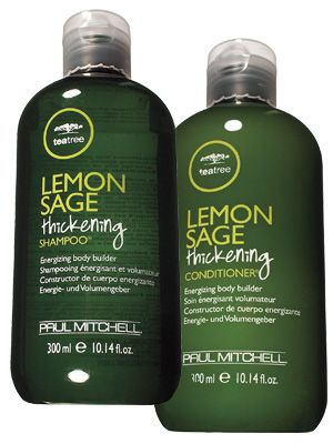 """BEST 2009  Shampoo/Conditioner for Fine/Limp Hair  Paul Mitchell Lemon Sage Thickening  A blend of botanical extracts bulks up wimpy strands while delivering mirrorlike shine. """"The tea tree oil soothes the scalp and gives hair nice lift at the roots,"""" Cruz says.  $39"""