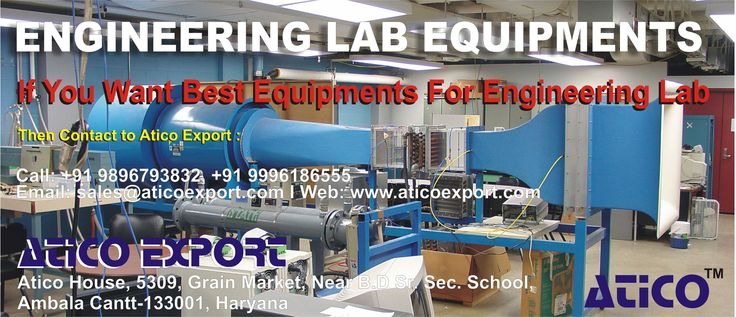 If you want to purchase any type of equipment for your engineering lab and looking for Engineering Lab Equipment supplier, then visit at Atico Export.   Phone: +919896793832, +919996186555  Email Id: aticoexportambala@gmail.com   Website: https://www.aticoexport.com  Address: Atico House, 5309, Grain Market, Ambala Cantt, Haryana Facebook page: https://www.facebook.com/AticoExport Twitter page: https://twitter.com/AticoExport