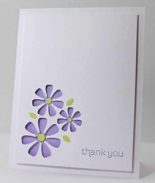Unique Thank You Card Ideas: 25+ Unique Handmade Thank You Cards Ideas On Pinterest