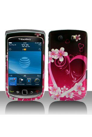 awesome Blackberry Torch Cases | BlackBerry Torch 9800 Graphic Case - Purple Love