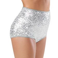 $24 Sequin High Waisted Brief Shorts; Balera